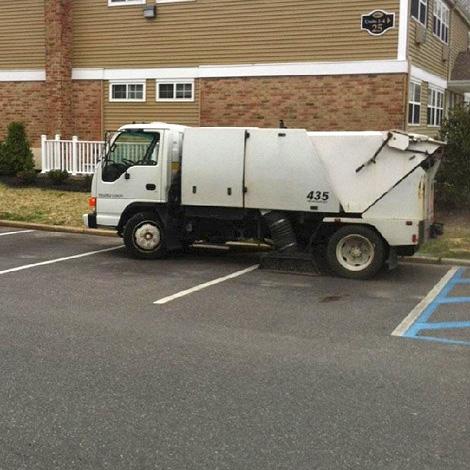 Elite Parking Area Maintenance Sweeping Services